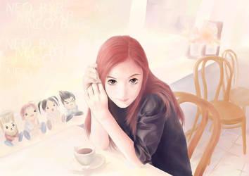 My Anime Self Portrait by TinaNguyen