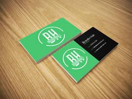 Free Business Card Mockup PSD by brandinhall
