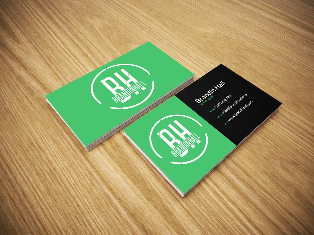 Free business card mockup psd by brandinhall on deviantart for Psd business card mockup