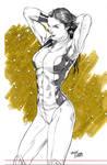 She-hulk Pencil By,tirso Llaneta(edited)