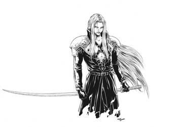 Sephiroth/art.Tirso Llaneta by katoti