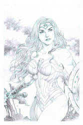 WW pencil pin up,art. Tirso Llaneta