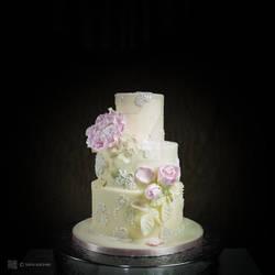 wedding cake photo by me