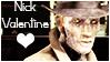 Nick Valentine Stamp by V0xP0puli