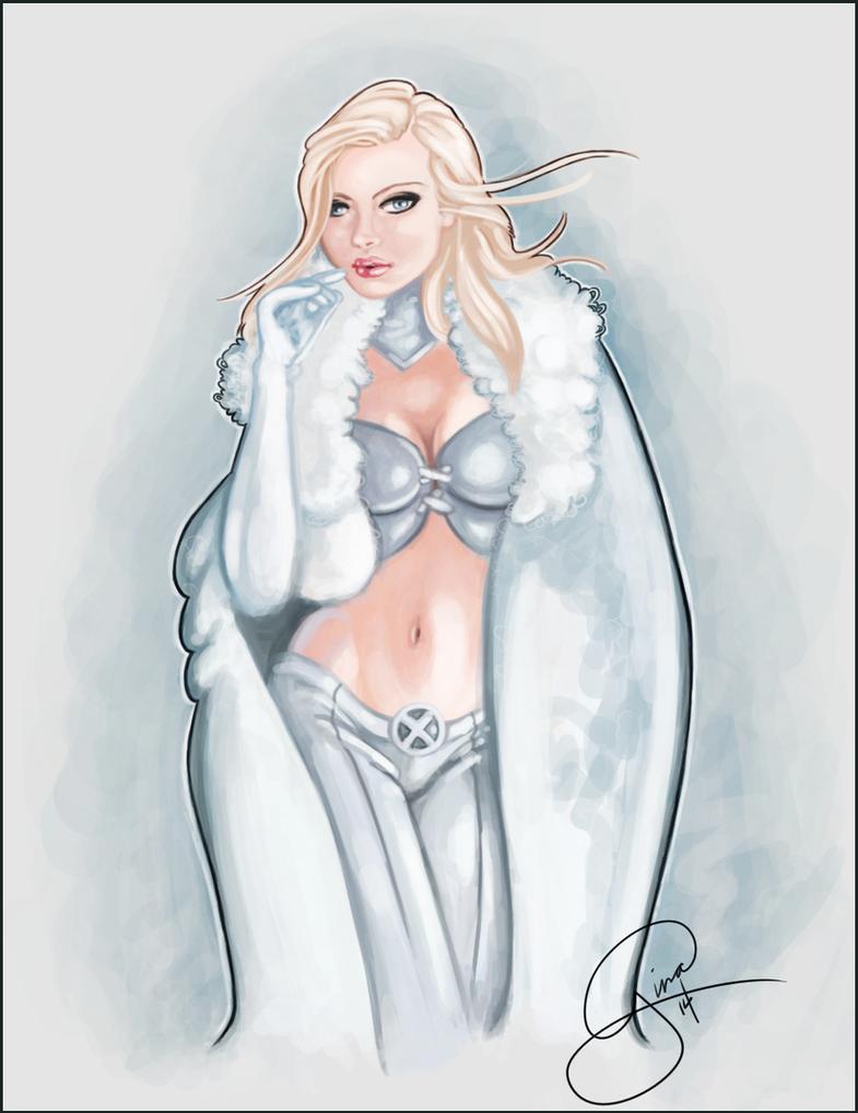 Emma Frost by Silvernia