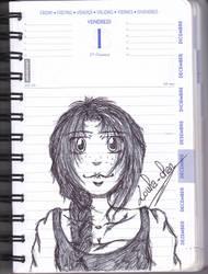Villager girl