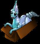 Aquamarine Parabox by Mockingbirds-nest
