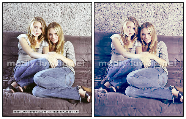 Olsen Twins Colorize by madlyluv