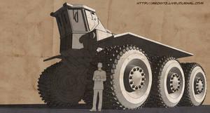Suzdal martian heavy tractor