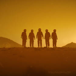 First people on Mars. by archy13