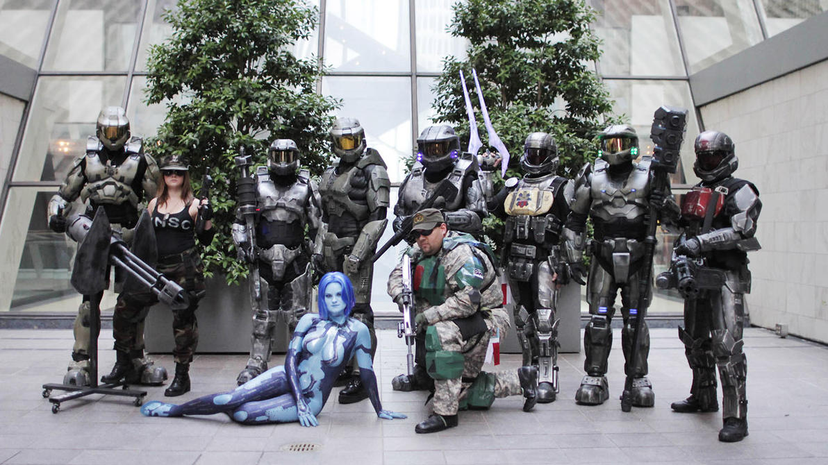 Image result for halo cosplayers