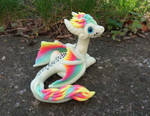 Fluorescent Rainbow Dragon 2