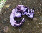 Purple Pearl Glimmer Dragon