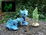 Fully Photoluminous Agate Dragon