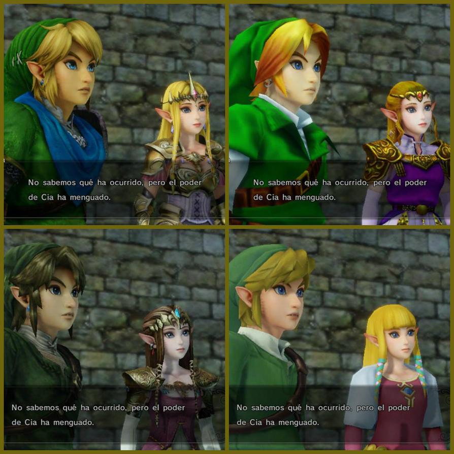 Hyrule Warriors Sfm: Link And Zelda By NekoBlue63 On DeviantArt