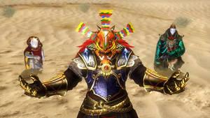 Ganondolwa summoning Ghirahim and Zant