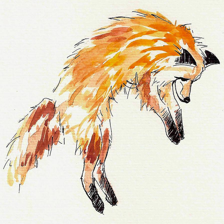 Fox by MilkyYoko