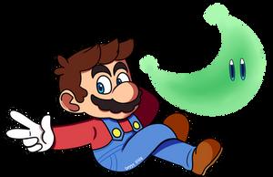 Super Mario Odyssey by Deggyart