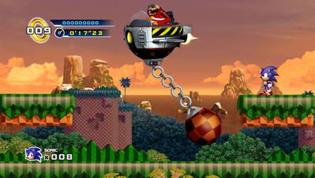 Classic Sonic 4 - Boss