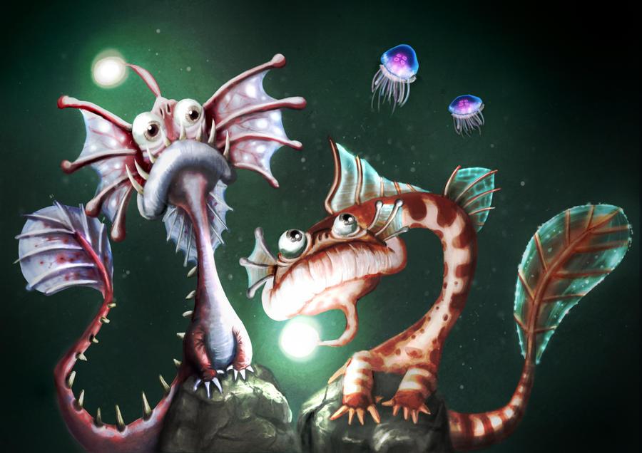 deep sea Watchers by RetroLin