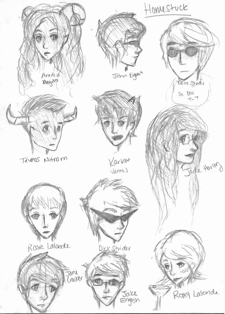 Isis Cartoon Characters 70s : Homestuck characters part by isis aglaia on deviantart