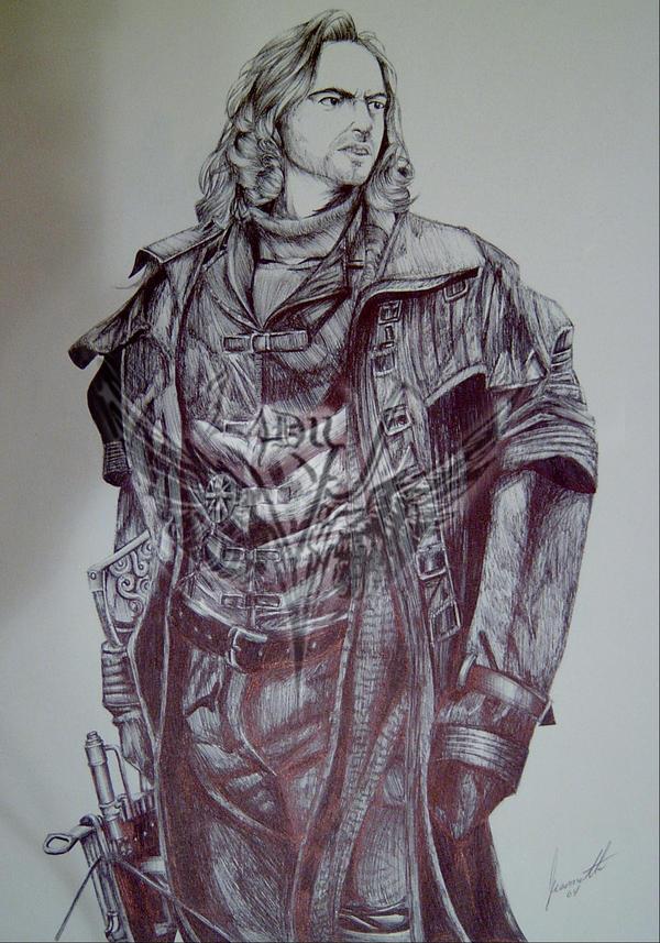 Van Helsing by  MaladyJ on deviantARTVan Helsing Drawing