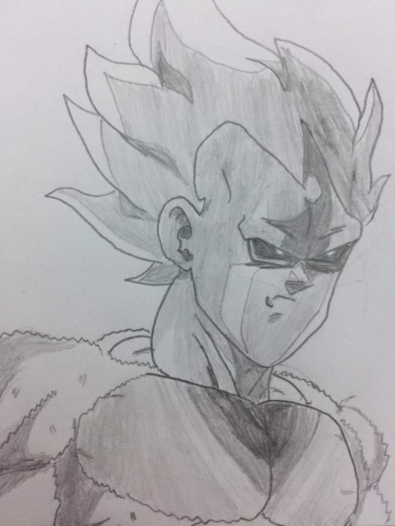 Vegeta (Perfect Super Saiyan) by Demigra-Senpai