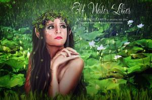 Elf water lilies by katherine-lemus