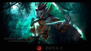 Wallpaper Dota2 Phantom Assassin