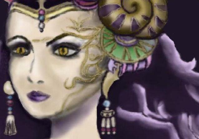 Sorceress Edea by AshbearVIII