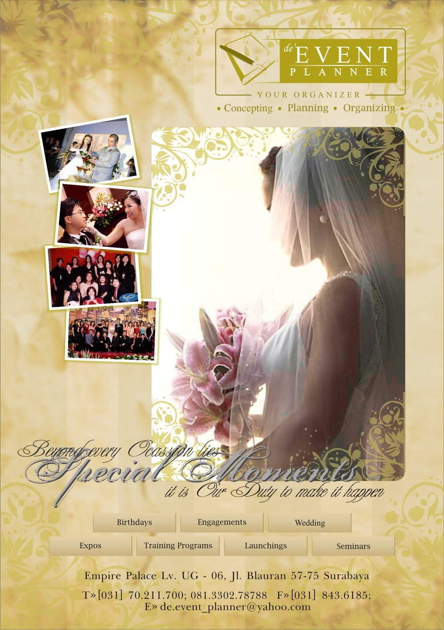 2nd Event Planner brochure by PropaG4nda