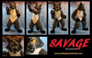 Savage the werewolf by stuffedpanda-cosplay