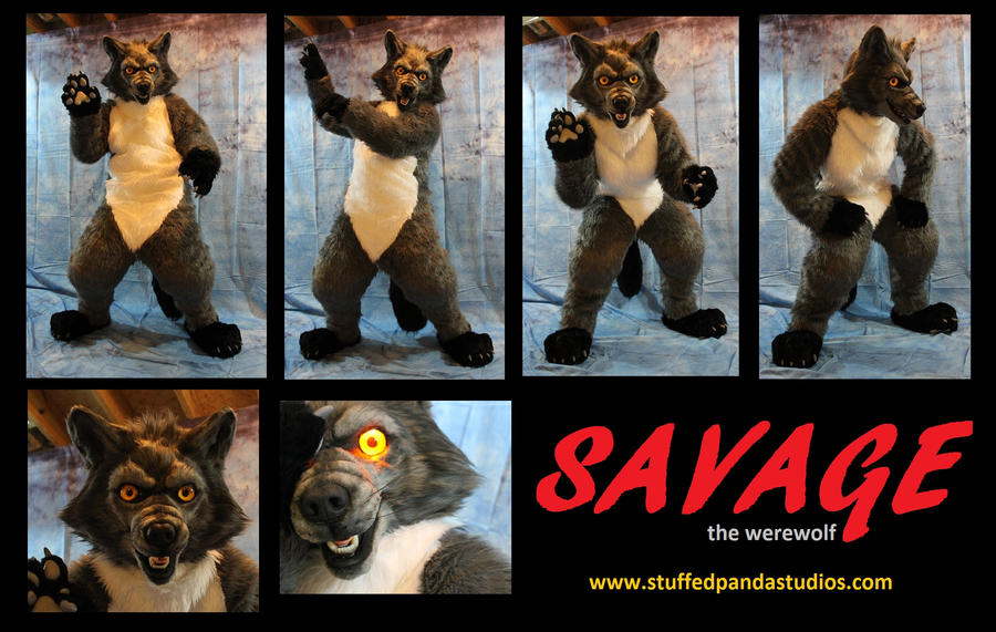 Savage the werewolf by stuffedpanda-cosplay