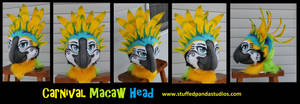 Carnival Macaw head