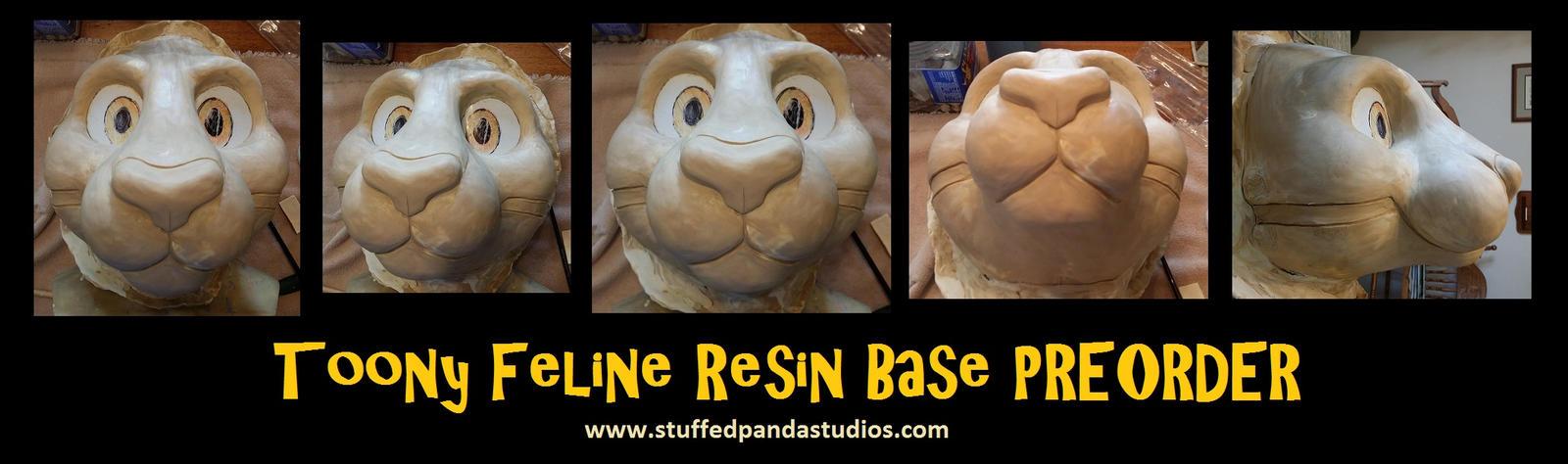 Toony large feline resin base [PREORDER] by stuffedpanda-cosplay