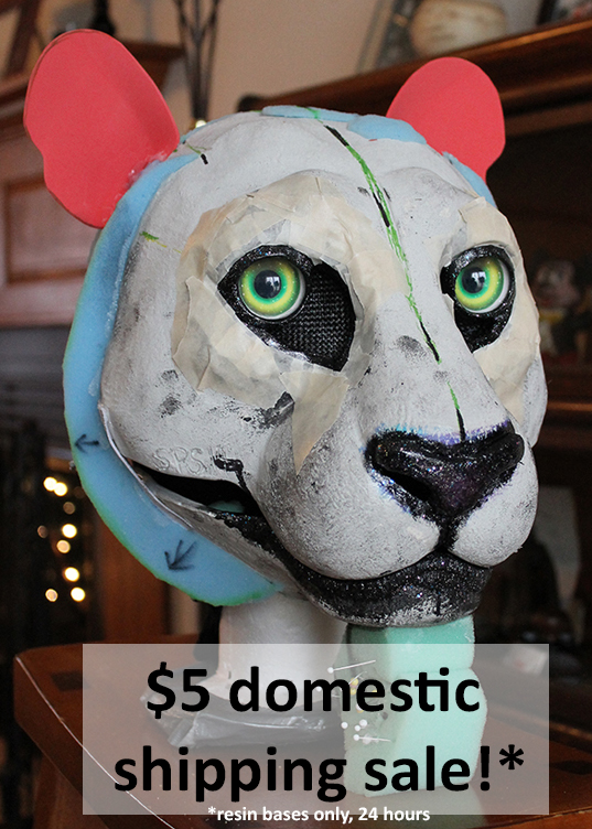 24 HOUR $5 domestic shipping sale on bases! by stuffedpanda-cosplay