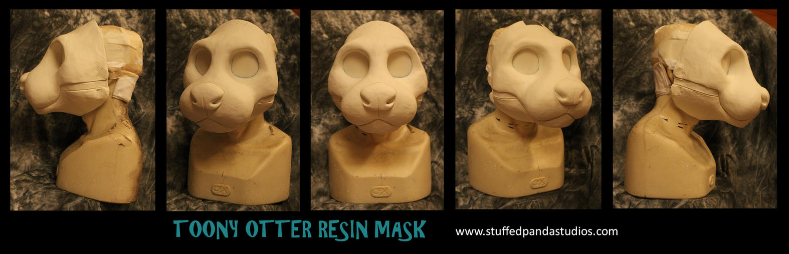Toony Otter Resin Base by stuffedpanda-cosplay