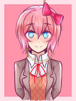 Doki doki literature club - Sayori by JustPlainAni