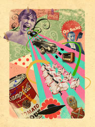Vintage Montage Collage by Vanhardisk