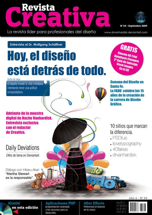 Creativa Magazine by Vanhardisk