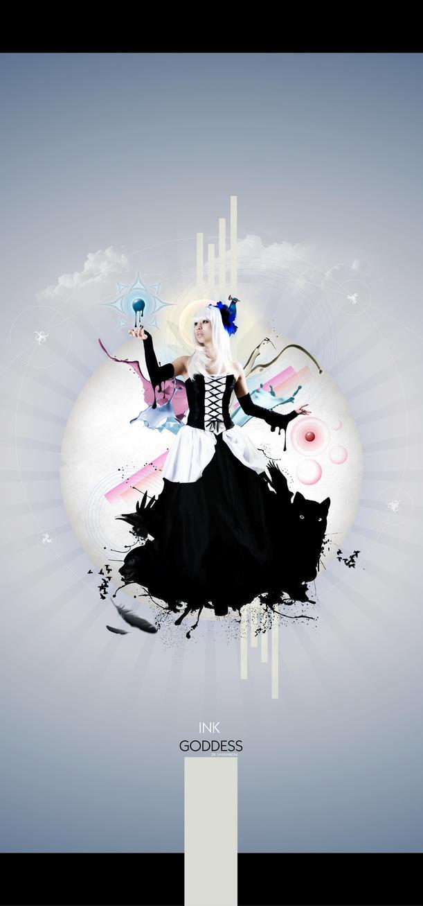 Ink Goddess by Vanhardisk