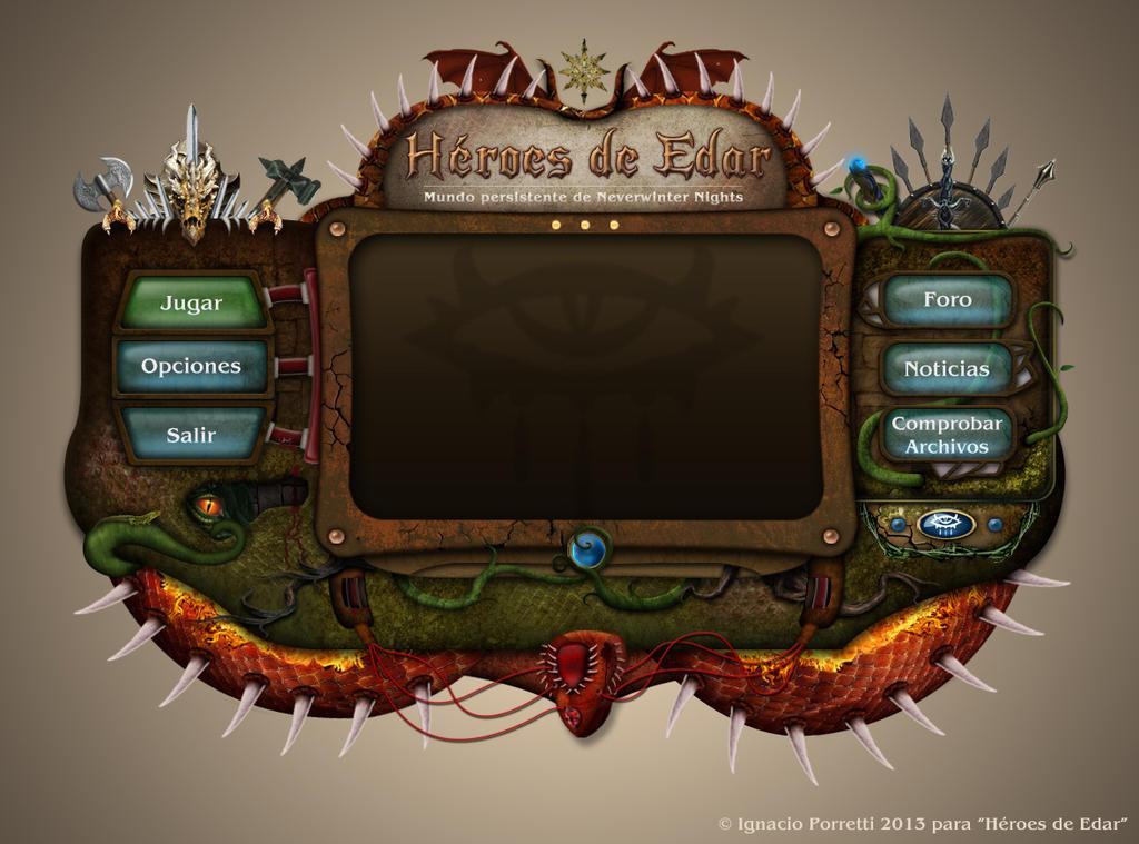 Heroes of Edar game console by Vanhardisk