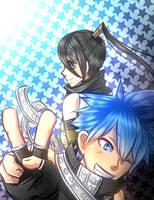 Blackstar And Tsubaki by AliceYume88