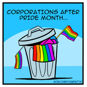 Corporations After Pride Month...