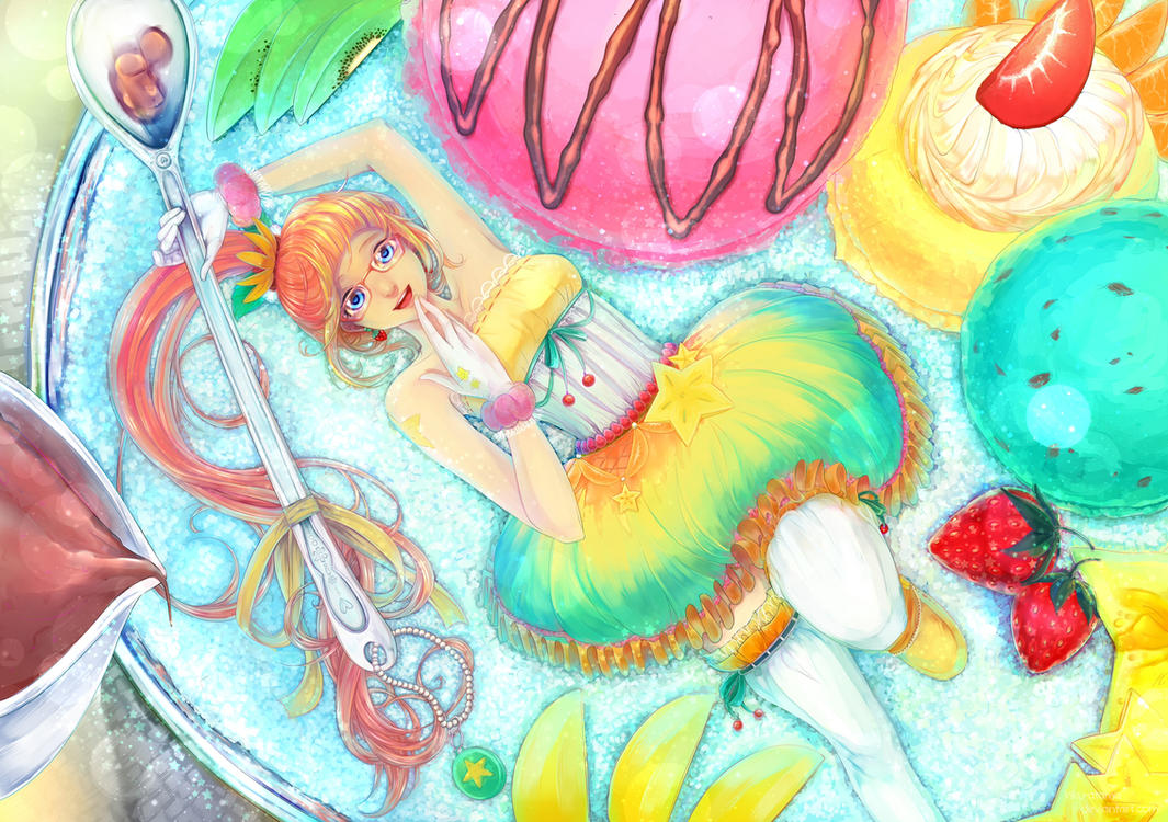 Fruity Ice Cream by kiku-atama