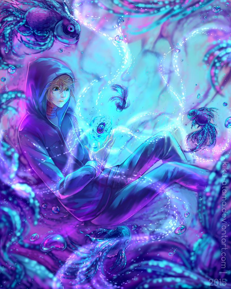 Drowned by kiku-atama