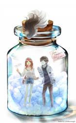 In a Bottle! by kiku-atama