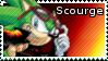 Scourge the Hedgehog stamp