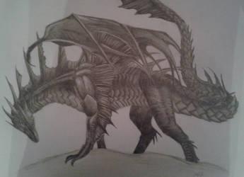 Black Dragon by kreALAtiv