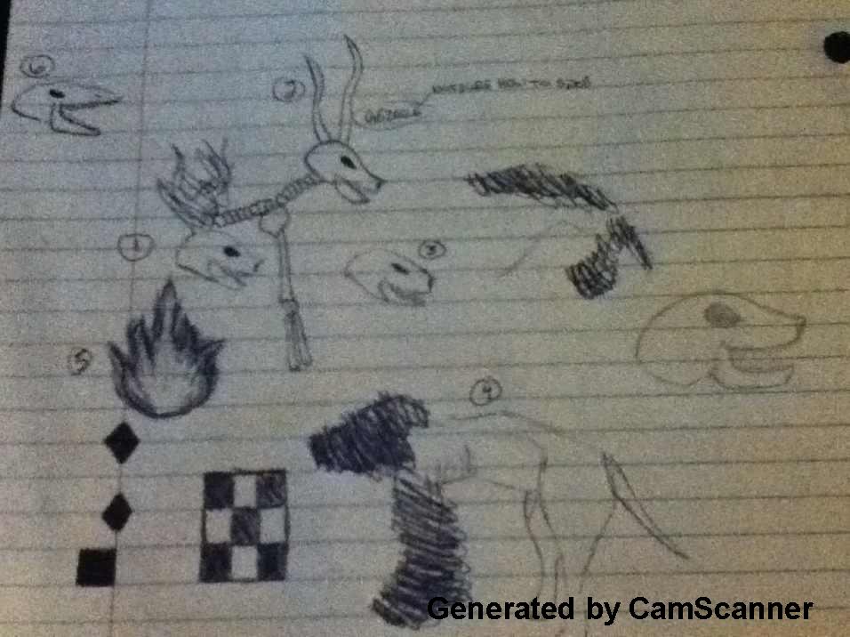 Random Doodles from English Class by Kenekochan01